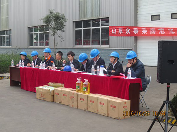 2015 annual public crisis of the second phase of hazardous materials leakage emergency drill activities reported